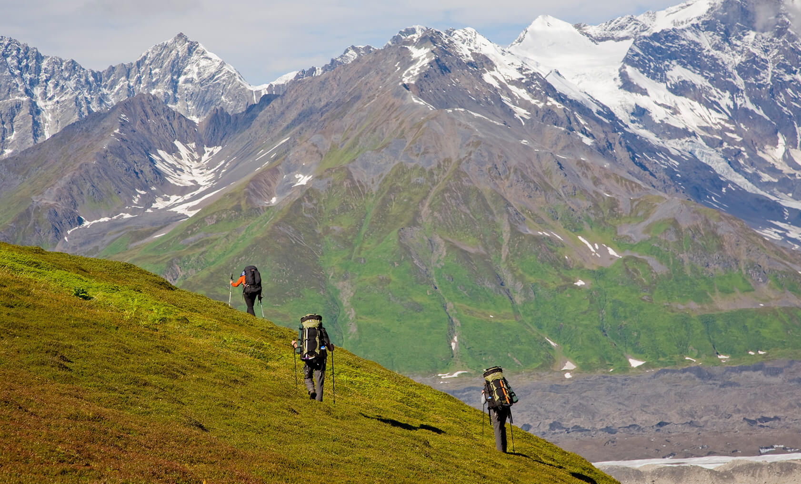 Alaska Denali Backpacking Modern Adventure